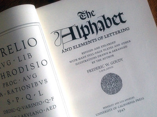 The Alphabet and Elements of Lettering book by Frederic Goudy