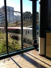 YGPで電車見る 2012/12/9