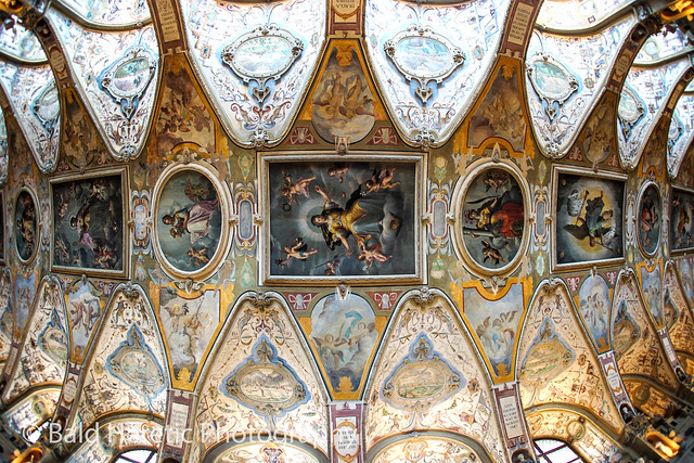Ceiling Of The Antiquarium