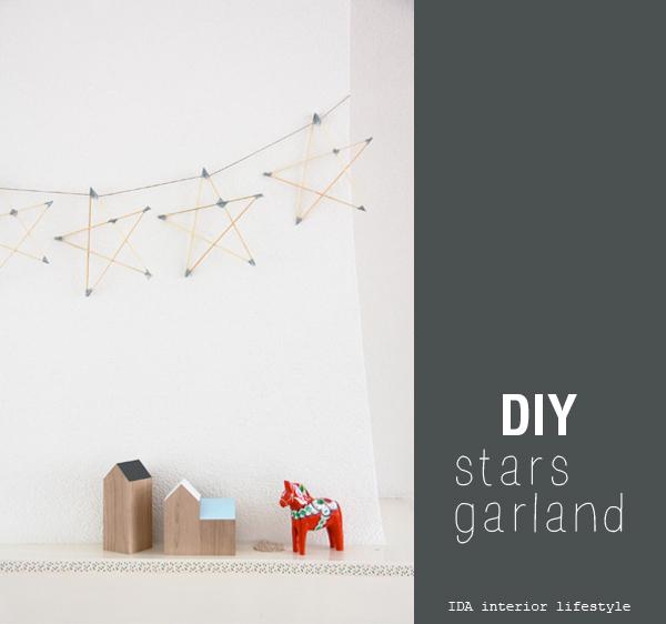 DIYstarsgarland