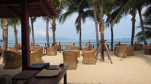 Samui PalmBeach Resort-restaurant サムイパームビーチリゾート