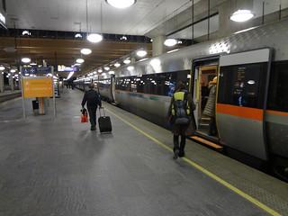 Viajar de comboio ate a Noruega
