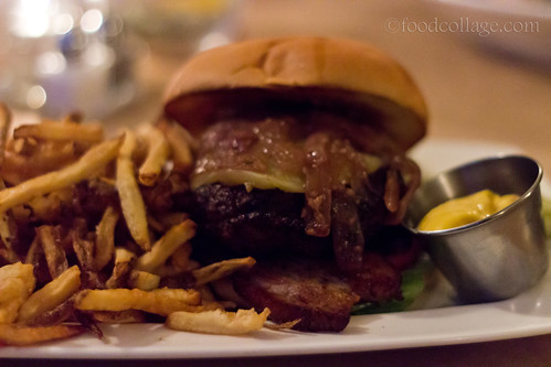 Farm to Table Five Star Burger at The Supper Club