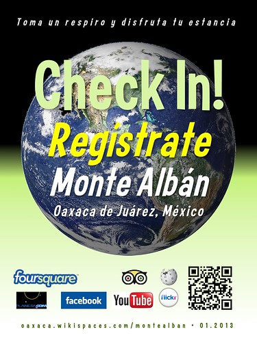 Monte Albán Check In! Regístrate Oaxaca 01.2013 #unesco