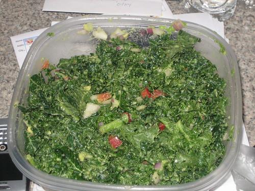 IMG_6362 Massaged Kale and Avocado Slaw