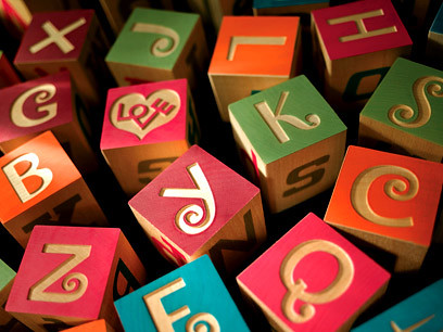 Alexander Girard alphabet blocks