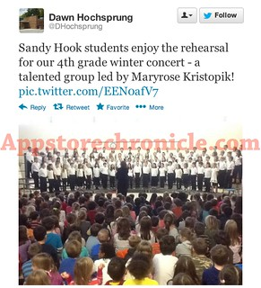 Tweets From The Sandy Hook Principal