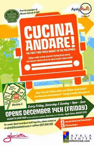 Cucina Andare Food Truck Market