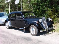 automobile, vehicle, citroã«n traction avant, antique car, sedan, classic car, vintage car, land vehicle, luxury vehicle, motor vehicle,