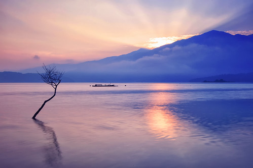 reflection nature sunrise canon landscape ray taiwan 南投 getty 5d rays contributor 台灣 風景 hy gettyimages bai crepuscular mkii 日月潭 sunmoonlake crepuscularray nantou 日出 倒影 魚池 霞光 風景攝影 yuchih fave50 5d2 fave100 hybai