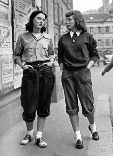 maudelynn:London Girls,  late 1950s!