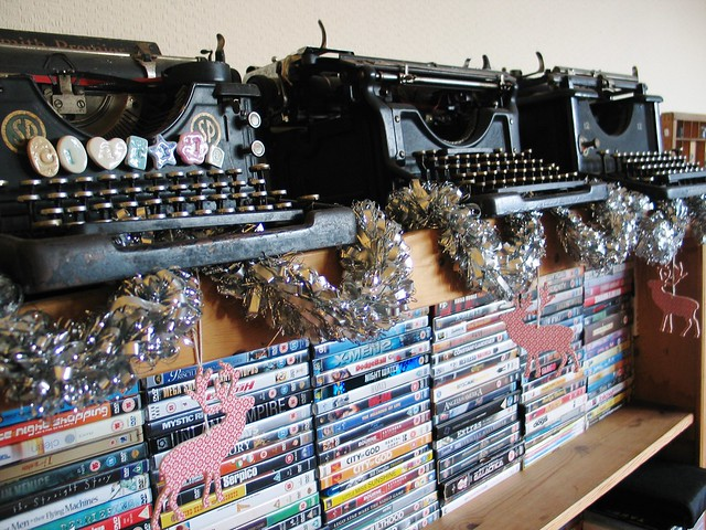 Festive typewriters
