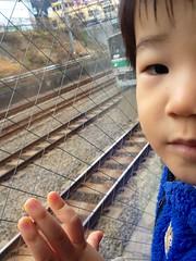 恵比寿ガーデンプレイスで電車みる 2012/12/19