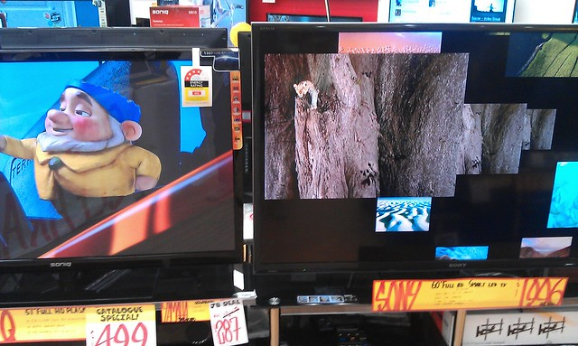 TVs in JB Hifi