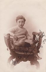 Master Jack Whiteley, July 1916 by J. P. Bamber (1916)