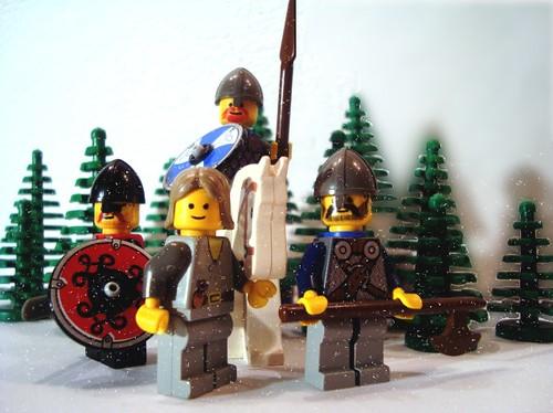 LEGO-Krieger