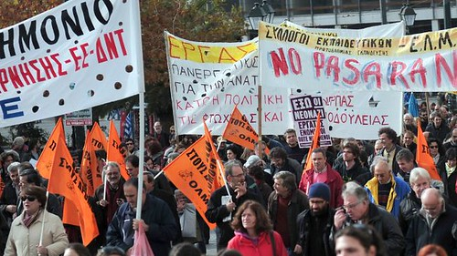 Greek workers went on another general strike on December 19, 2012. They are bracing for another round of austerity measures. by Pan-African News Wire File Photos