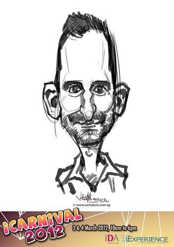 digital live caricature for iCarnival 2012  (IDA) - Day 2 - 47