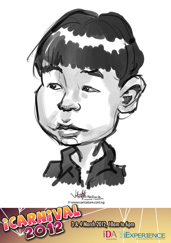 digital live caricature for iCarnival 2012  (IDA) - Day 2 - 65