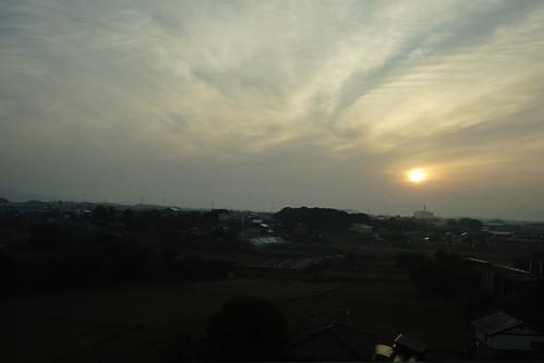 travel sunset sky cloud sun japan sunrise sony 夕陽 日本 nippon 旅行 太陽 日落 nihon 天空 kyushu backpackers 九州 nex 朝霞 α 日出 晚霞 雲彩 自助旅行 日本国 mirrorless にほんこく newemountexperience nex7 くまもとけん