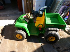 outdoor power equipment, machine, vehicle, toy,