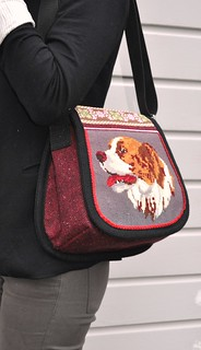 Cute dog bag