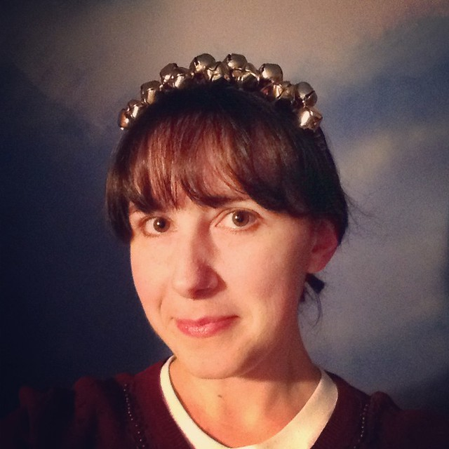 My jingle bell crown