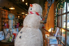 Watchung Booksellers Snowman