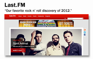 Homepage Button -- Last.FM