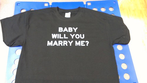 MARRY ME T-SHIRT by Express Service Signs & T-shirts