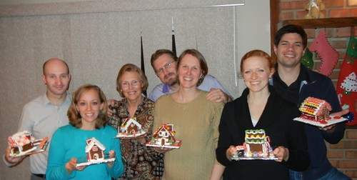 Dec 20, 2012 Gingerbread houses Lee Ruth, Vivian, Karl Sunny Doller, Brittany Michael Weiler