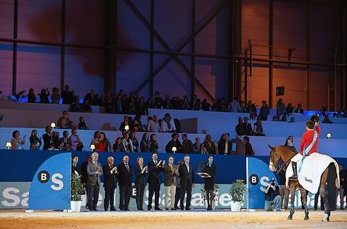 Madrid Horse Week 2012, entrega de premios