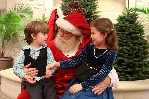 Santa Visit 12-1-12