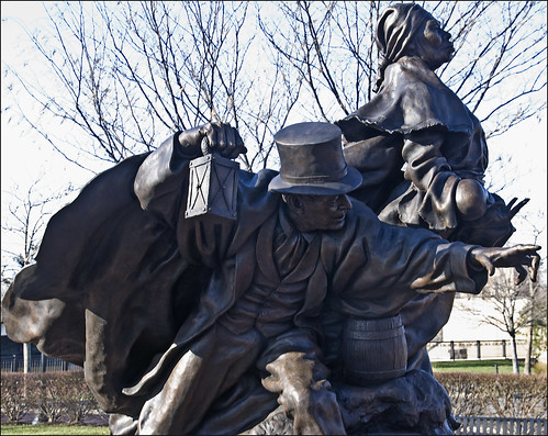 """Unwavering Courage in the Pursuit of Freedom"" -- Tubman-Garrett Park Wilmington (DE) December 2012"