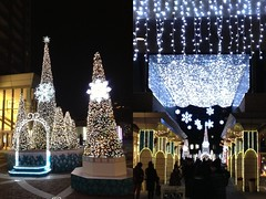 代官山アドレスのクリスマスイルミネーション