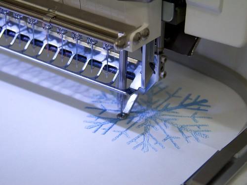 CNC Snowflakes 22