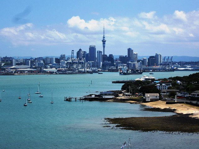 Auckland from North Head