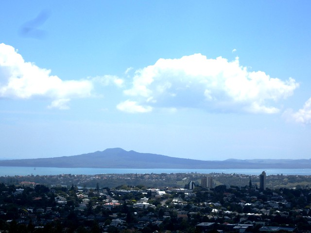 Rangitoto from One Tree Hill