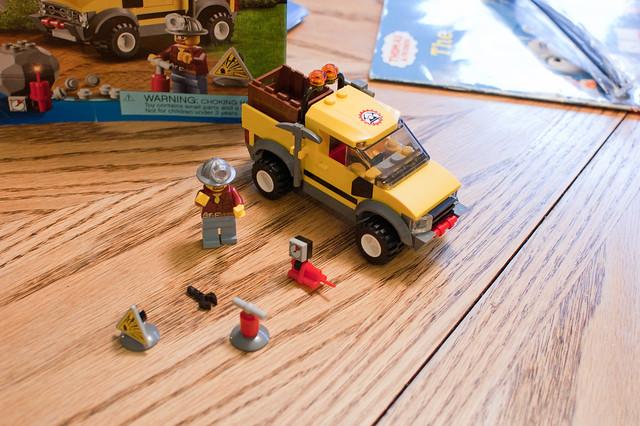 Larry's Mining Lego Set