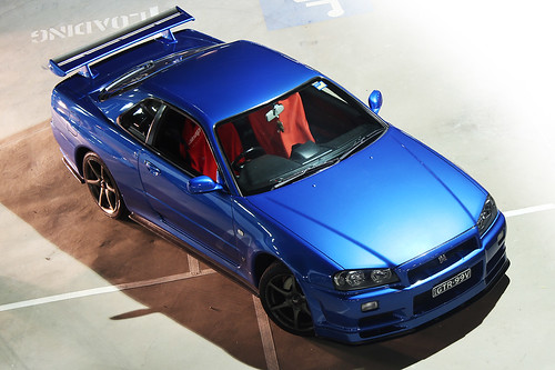 Nissan Skyline R34 GTR Vspec - Bayside Blue