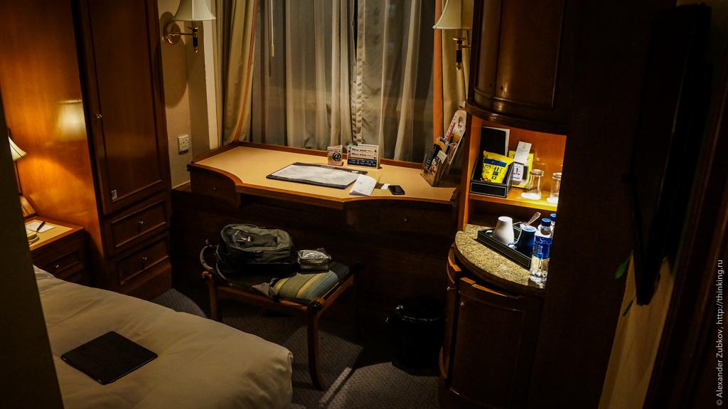Номер в гонконгском отеле Charterhouse Causeway Bay