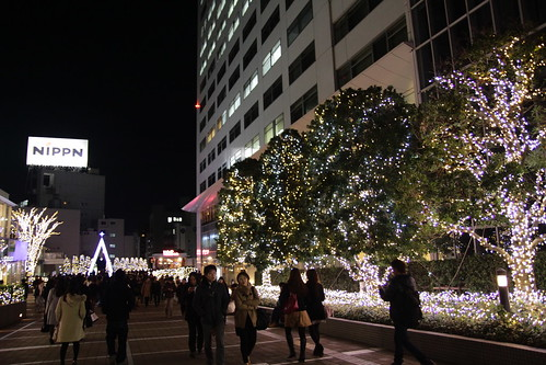 Christmas lights in Shinjuku 3