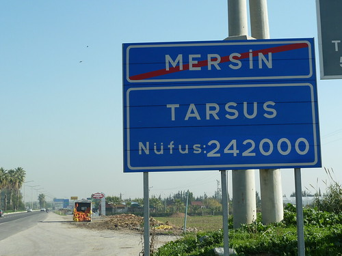 Walking out of Mersin, into Tarsus by mattkrause1969