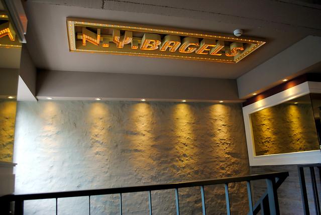 NY Bagel lights