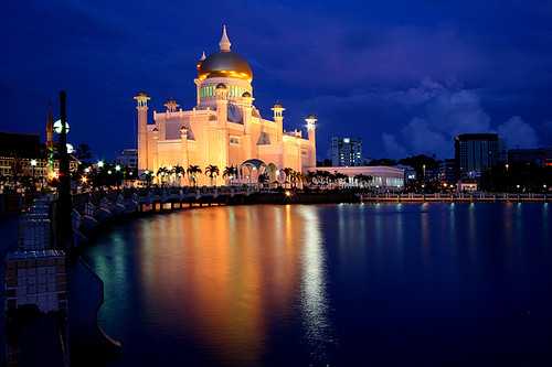 mosque borneo brunei bsb bandarseribegawan