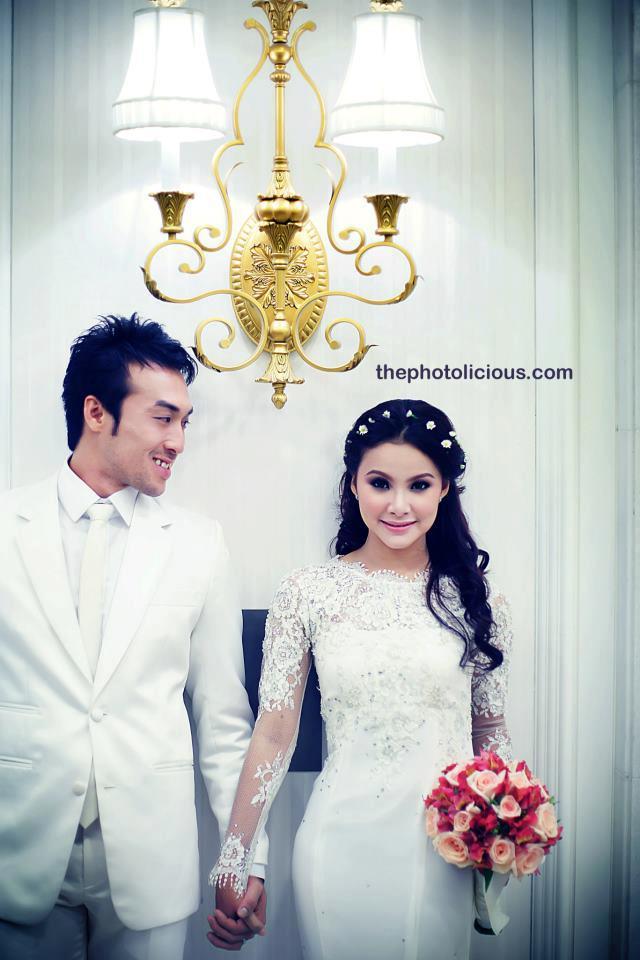 Gambar Pra Perkahwinan Apex Leuniey