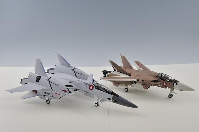 yamato VF-4G と VF-1A