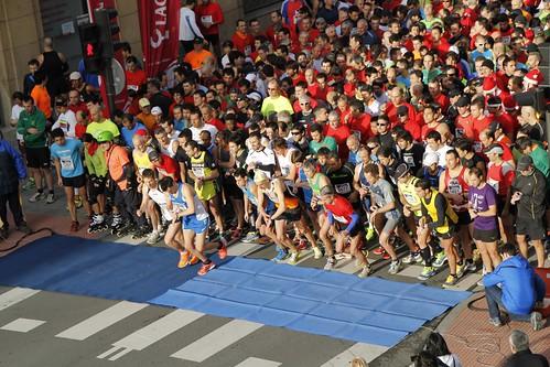 Salida XVIII Carrera Las Arenas - Bilbao 2012