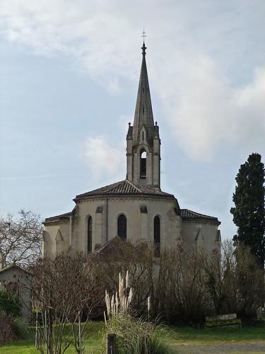 Saint Quentin de Caplong - L'Eglise 02