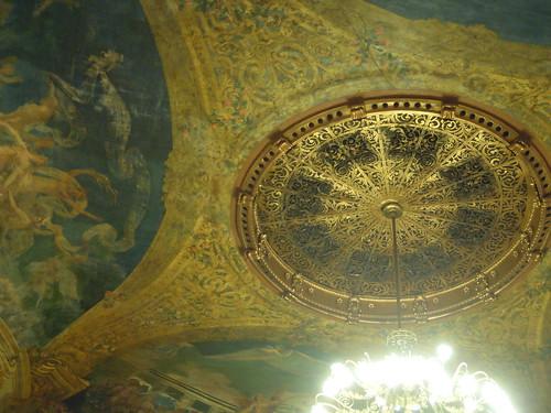 Ceiling in Teatro Amazonas